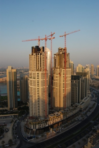 Wolffkran at Dubai Burj Residence