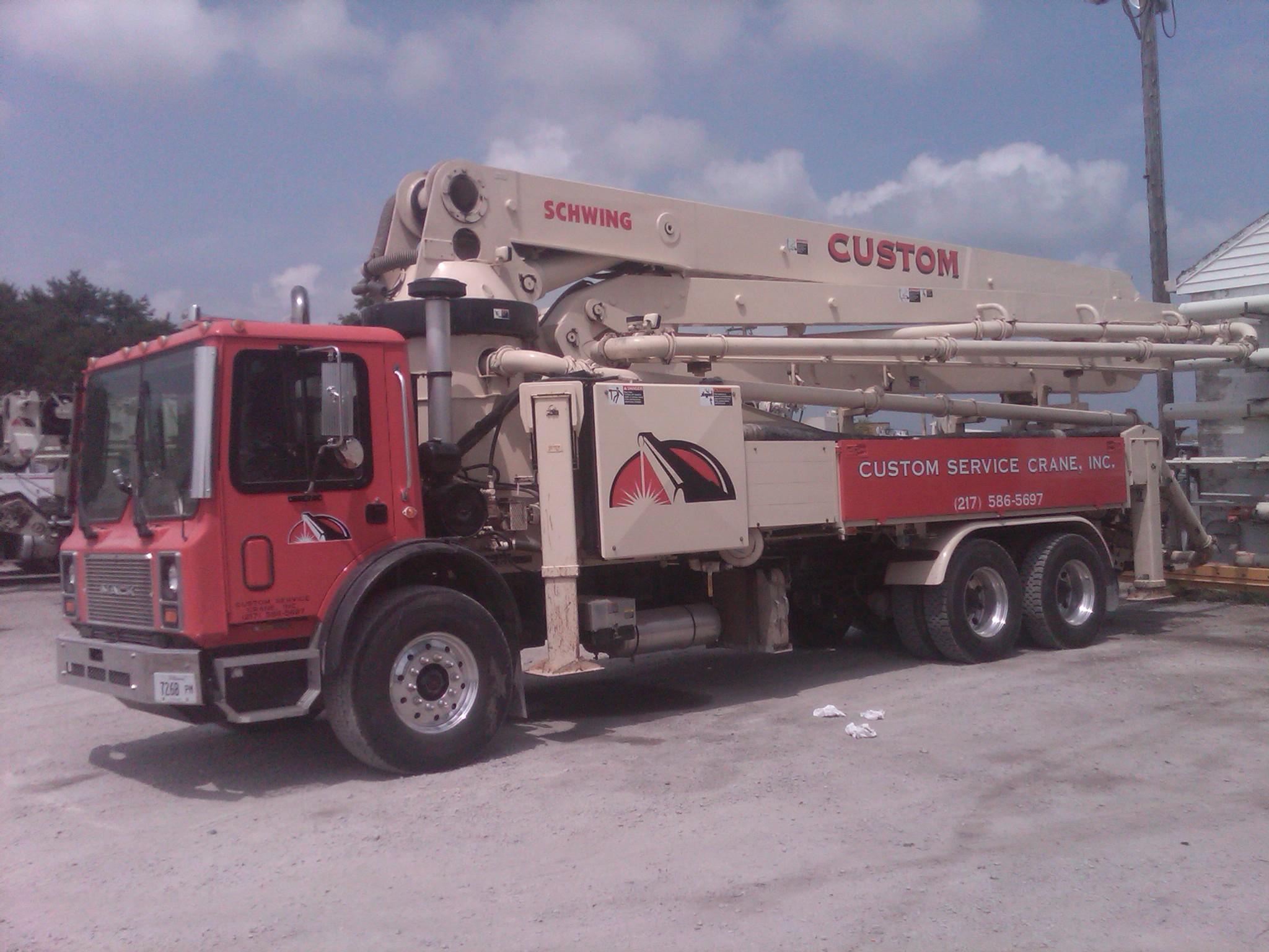 39 meter pump truck.
